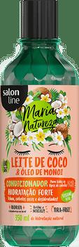SALON LINE MARIA NATUREZA CONDICIONADOR LEITE DE COCO & OLEO DE MONOI-350ML