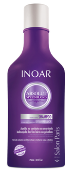 Inoar Absolut Speed Blond Shampoo - 250ml