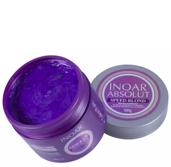 Inoar Absolut Speed Blond Máscara Violeta - 500g