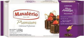 Chocolate Mavalério Premium Cobertura Chocolate Meio Amargo - 1.01kg