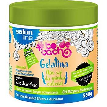 Salon Line To de Cacho Gelatina Não Sai da Minha Cabeça - 550g