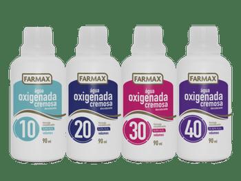 Água Oxigenada Cremosa Farmax  - 90ml