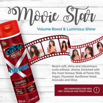 Meus Cachos de Cinema Novex Shampoo 300ml
