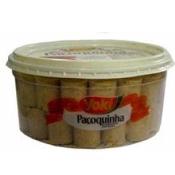 Pacoquinha de Amendoin Rolha Box  Yoki - 1,25kg