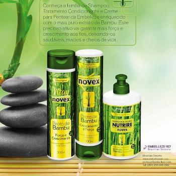 Bamboo Shampoo - Novex - 300ml