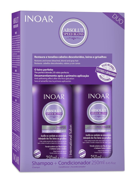Inoar Absolut Speed Blond Kit - 250ml