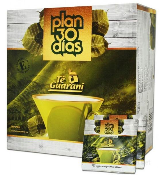 Cha Plan 30 Dias / Plan 30 Days Te Guarani
