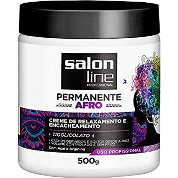SALON LINE PERMANENTE PROFESSIONAL (CREME DE RELAXAMENTO E ENCACHEAMENTO)500G