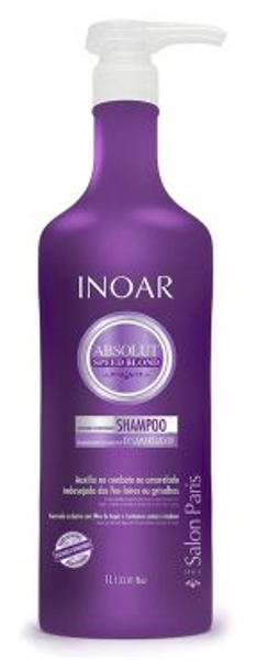 Inoar Absolut Speed Blond Shampoo - 1L