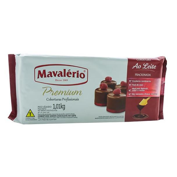Chocolate Mavalério Premium Cobertura Chocolate Ao Leite - 1.01kg