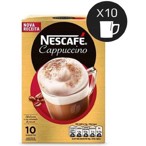 Nescafé Cappuccino  - 10 saquetas