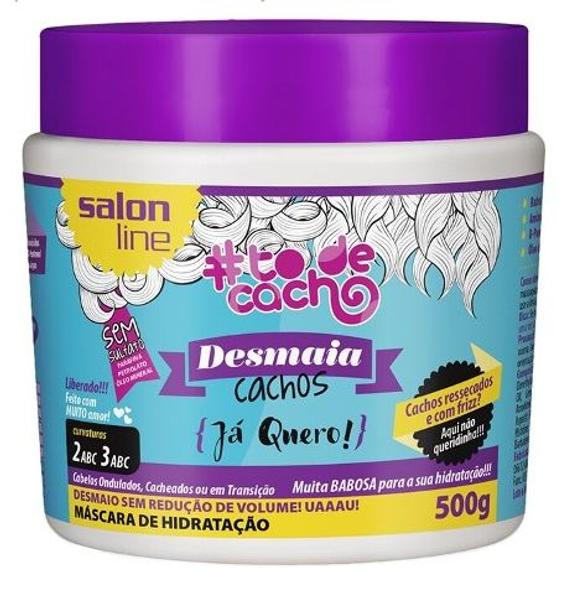 SALON LINE TO DE CACHO MÁSCARA DESMAIA CACHOS JÁ QUERO - 500g