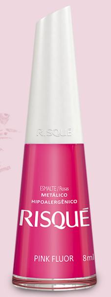 Esmalte Risqué Pink Fluor - 8ml