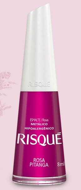 Esmalte Risqué Rosa Pitanga - 8ml