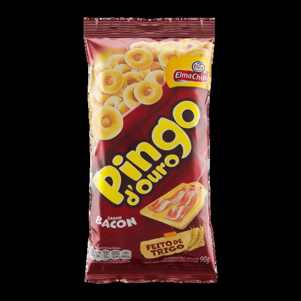 Salgadinho de Trigo Sabor Bacon Pingo D´ Ouro ELMA CHIPS 90g