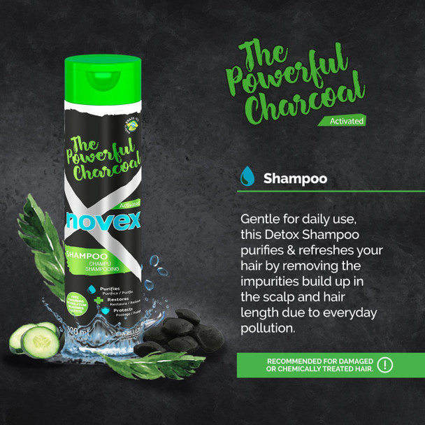 O Poderoso Carvão Novex Shampoo 300ml
