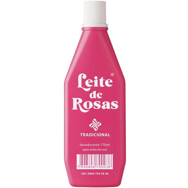 Leite de Rosas Tradicional - 170ml