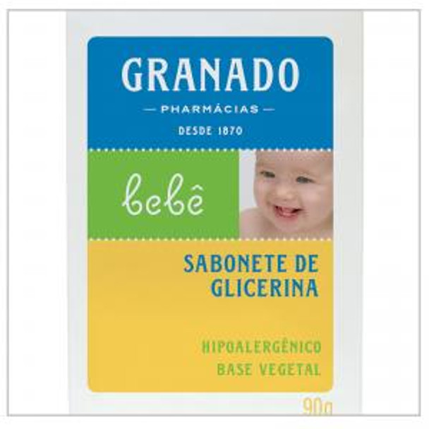 Bar Soap Granado Glicerina - 90g