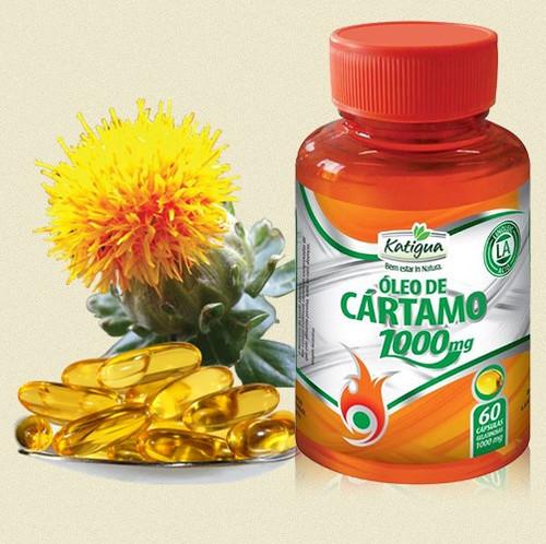 b33904b8b Oleo de Cartamo 1000mg - Katigua - 120cps - Amazonia Brasil