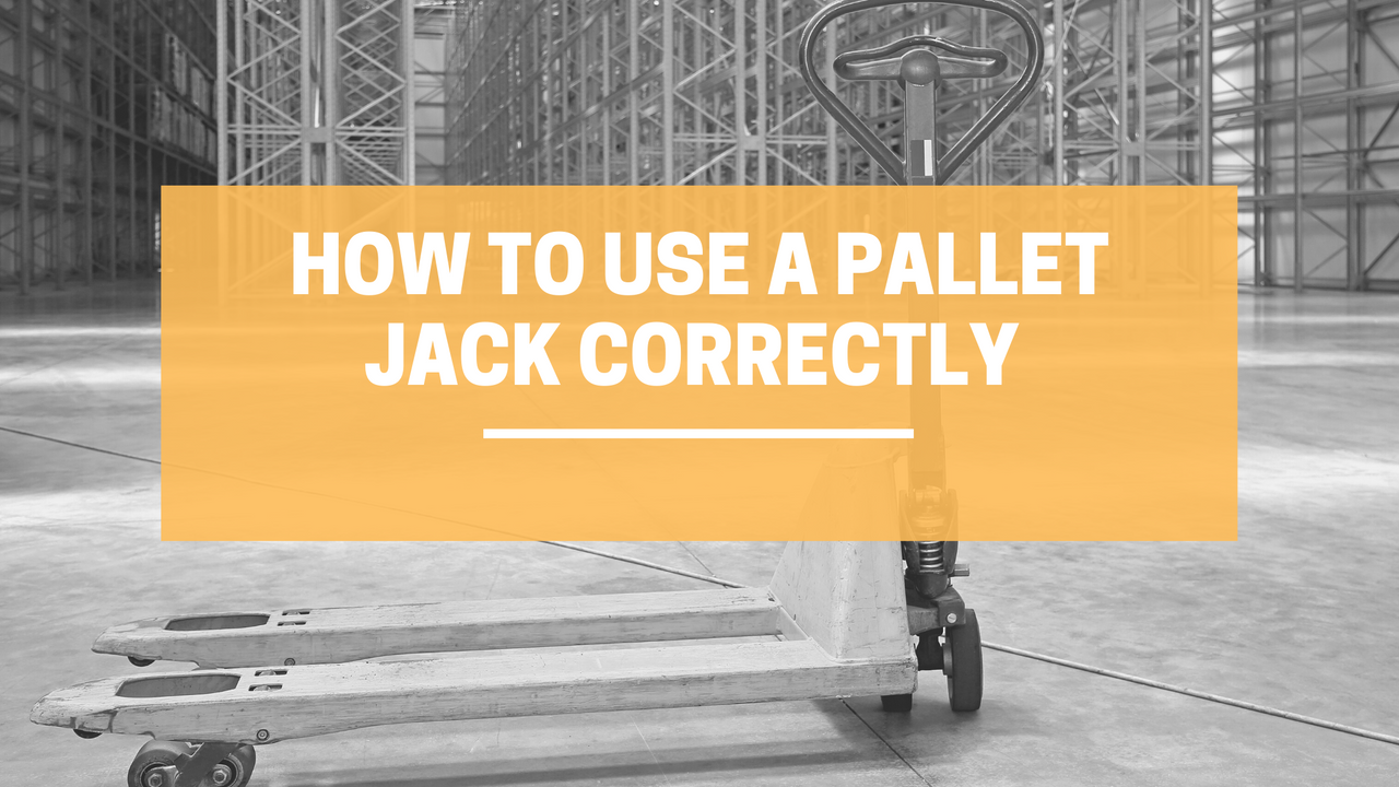 How To Use a Pallet Jack Correctly | LINCO Casters & Industrial Supply