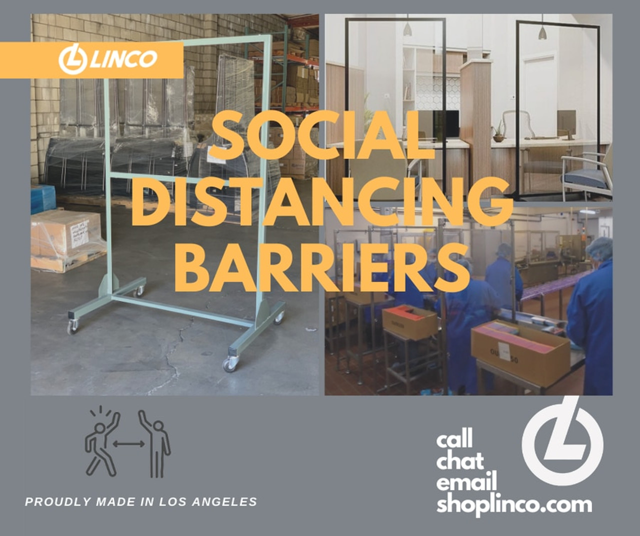 SOCIAL DISTANCING BARRIERS