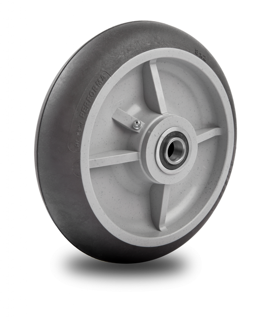 "Colson Hand Truck Wheel 8"" Round Tread - Offset Hub (300 LBS Cap) 5.00008.585.2"