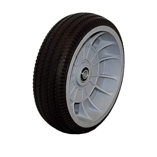 "LINCO Flat Free Tire 10"" - Heavy Duty Solid Rubber Wheel (300 LBS Cap)"