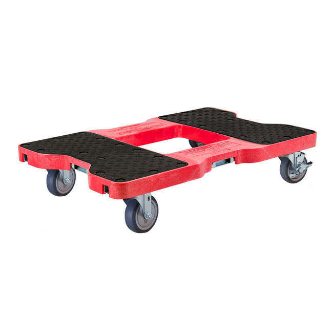 SNAP-LOC 1200 LB PROFESSIONAL E-TRACK PUSH CART DOLLY RED
