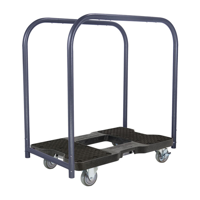 SNAP-LOC 1200 LB PROFESSIONAL E-TRACK PANEL CART DOLLY BLACK