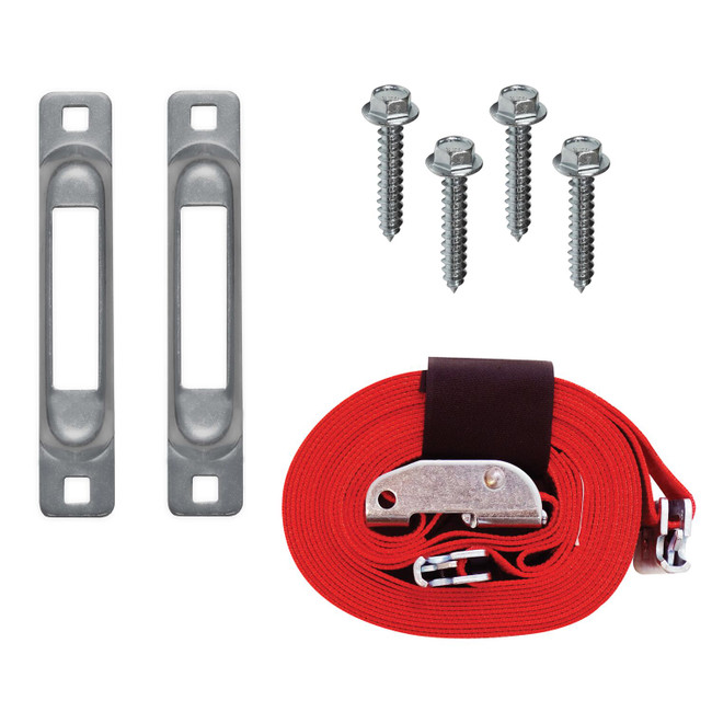 "SNAPLOCS DOLLY STRAP ANCHOR KIT WITH 2""x16' CAM for Wood Dollies"