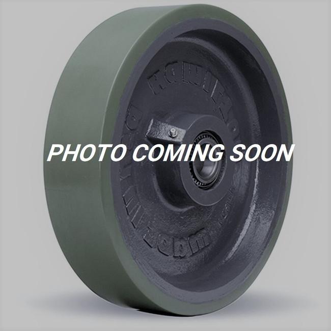 "Darnell-Rose Brown Moldon Poly Wheel 3"" x 1-7/8"" - 103-TADI-M-CI"