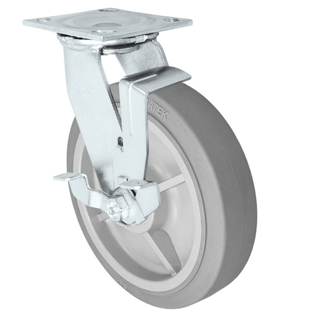 5x2 Swivel brake DURATEK w/ Roller Bearing
