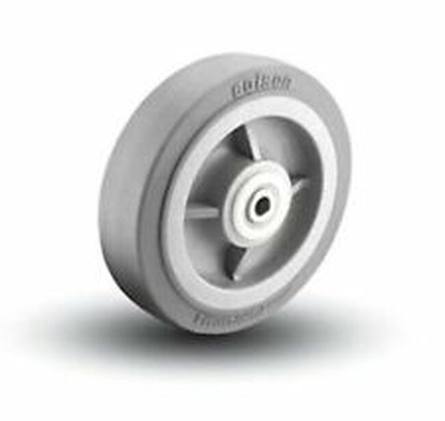 "8"" X 1.5"" GREY PERFORMA RUBBER WHEEL 4.00008.445"
