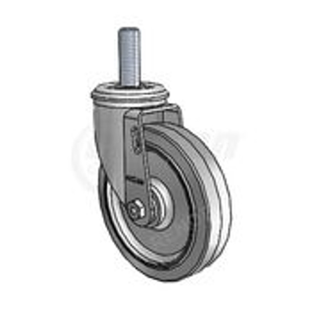 "Colson 2 Series Threaded Stem Peforma Swivel Caster 5"" - 2.05254.445 MTG53"