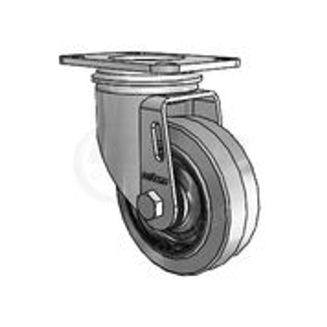 "Colson 2 Series Swivel Caster Conductive Performa Wheel 3-1/2"" - 2.03256.445 COND"