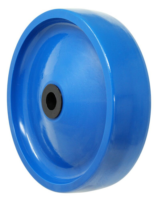8x2 solid polyurethane wheel w/ 3/4'' delrin bearings
