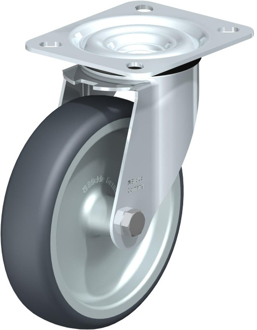 """5"""" BLICKLE SWIVEL CASTER  WITH TOP PLATE - LE-TPA 127G"""