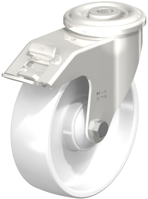 "5"" BLICKLE STAINLESS LOCKING SWIVEL CASTER - MADE IN GERMANY -  LEXR-PO 125KD-FI"