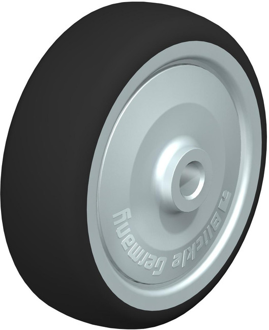 "4"" BLICKLE POLYURETHANE WHEEL - MADE IN GERMANY - PATH 100/10K-FK"