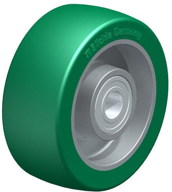 "4"" BLICKLE SOFTHANE POLYURETHANE WHEEL - MADE IN GERMANY - ALST 100/15K"