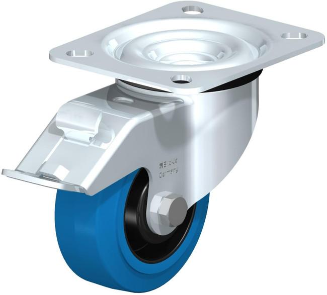 "Blickle Blue Locking Swivel Caster 3"" [LE-POEV 80R-FI-SB]"