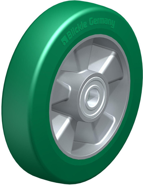 "8"" BLICKLE SOFTHANE POLYURETHANE WHEEL - MADE IN GERMANY - ALST 200/20K"
