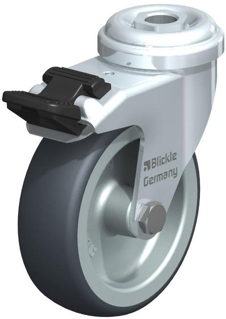 "Blickle Locking Swivel Caster 3"" [LRA-TPA 75G-FI]"