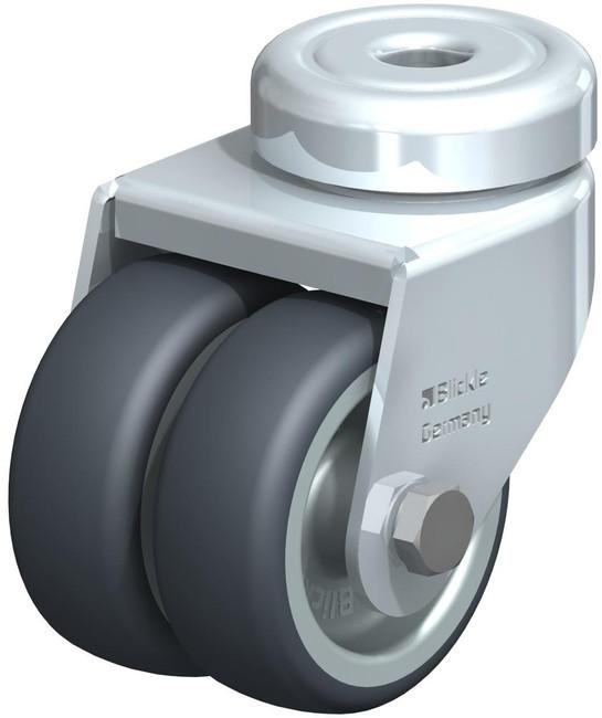 "Blickle Dual Wheel Swivel Caster 2"" [LMDA-TPA 50G]"