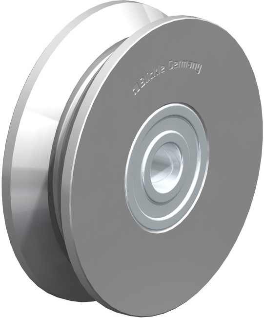 "3"" BLICKLE V GROOVE WHEEL - MADE IN GERMANY - DSPK 75K"