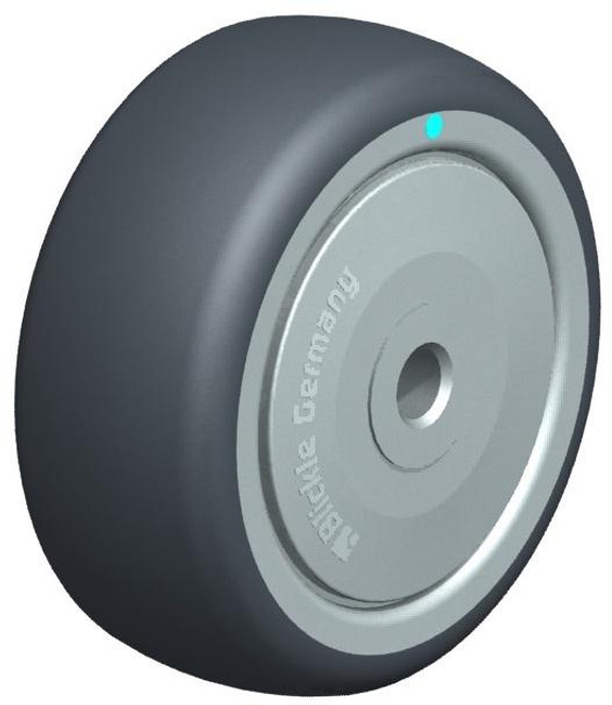 "3"" BLICKLE POLYURETHANE WHEEL - MADE IN GERMANY - TPA 80/8KD-FK"