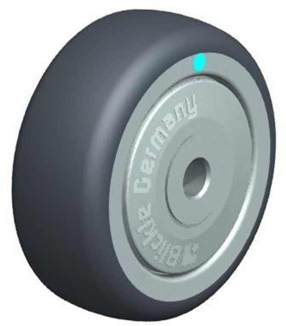 "2"" BLICKLE RUBBER WHEEL - MADE IN GERMANY - PTPA 50/6KD-FK"