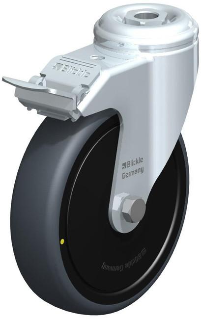 "Blickle Thermoplastic Rubber (TPR) Swivel Caster 5"" [LKPA-TPA 126K-FI-ELS-FK]"