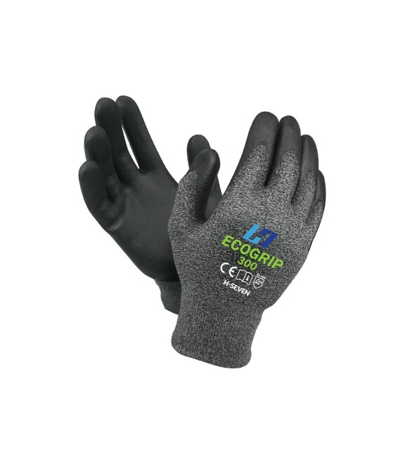 ECOGRIP 300 - CHEMICAL FREE BREATHABLE WORK GLOVE - 1 PAIR - SIZE LARGE