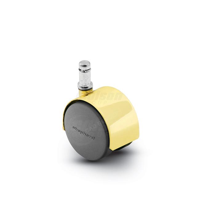 Shepherd Pacer Twinwheel Caster 50mm (75 LBS Cap) - PPA50223BR-U